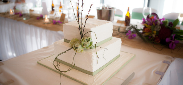 Stress Free Wedding Cake