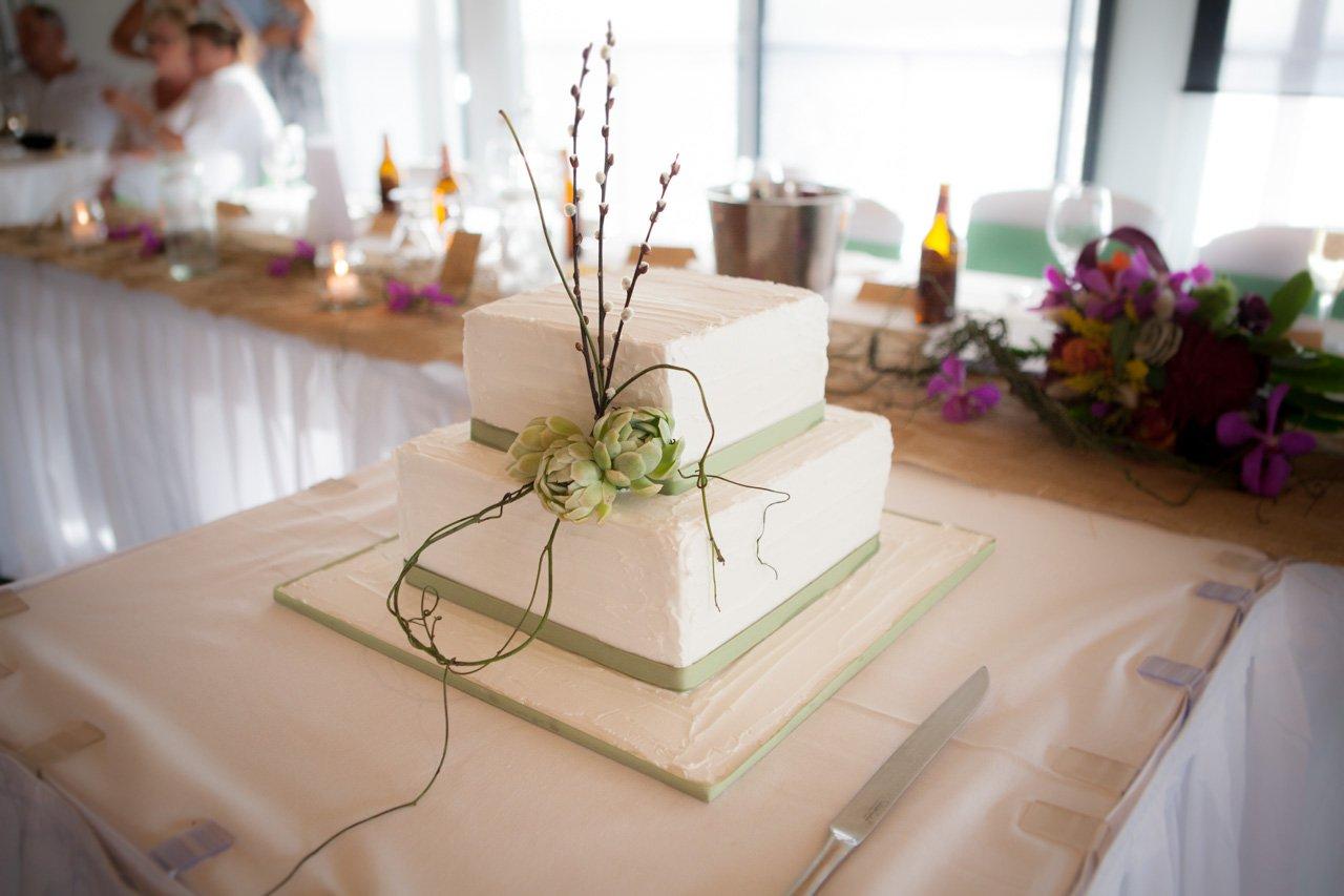Stress Free Wedding Cake